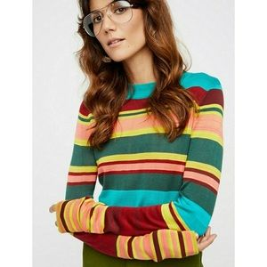Free People | Show Off Your Strips Sweater